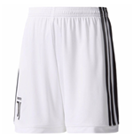 2017-2018 Juventus Adidas Home Shorts (Kids)