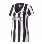 2017-2018 Juventus Adidas Home Womens Shirt
