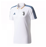 2017-2018 Juventus Adidas Polo Shirt (White)