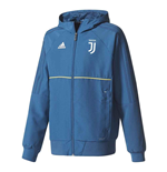 2017-2018 Juventus Adidas Presentation Jacket (Blue-Gold)