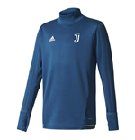 2017-2018 Juventus Adidas Training Top (Blue)