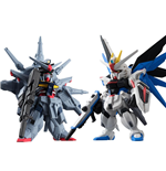 Mobile Suit Gundam SEED Fusion Worms Converge SP07 Freedom X Providence