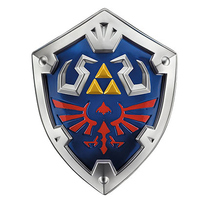 The LEGEND OF ZELDA Link Shield Costume Accessory