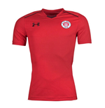 2017-2018 St Pauli Training Shirt (Red)
