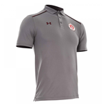 2017-2018 St Pauli Team Polo Shirt (Graphite)