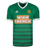2017-2018 Rapid Vienna Adidas Home Shirt (Kids)