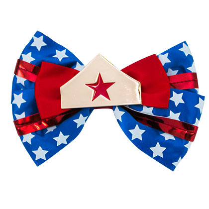 WONDER WOMAN Bowtie Hair Bow