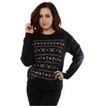 Marvel Comics Ladies Sweatshirt: Deadpool Christmas