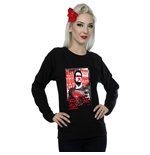 DC Comics Ladies Sweatshirt: Batman v Superman False God