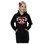 DC Comics Ladies Pullover Hoodie: Batman v Superman Face Off