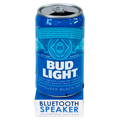 BUD LIGHT Bluetooth Beer Can Speaker