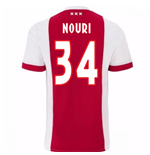 2017-2018 Ajax Home Shirt (Nouri 34)