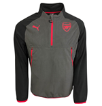 2017-2018 Arsenal Puma Training Fleece (Steel Grey)