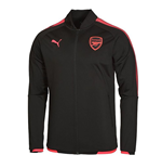 2017-2018 Arsenal Puma Stadium Jacket (Black)