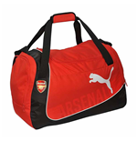 2017-2018 Arsenal Puma Medium Football Bag (Chilli Pepper)
