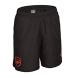 2017-2018 Arsenal Puma Leisure Shorts (Black)
