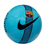 2017-2018 Barcelona Nike Supporters Football (Blue)