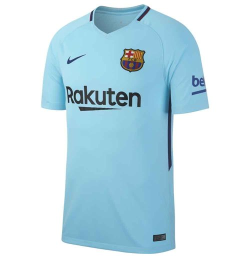 2017-2018 Barcelona Away Nike Football Shirt
