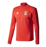 2017-2018 Benfica Adidas Training Top (Red)