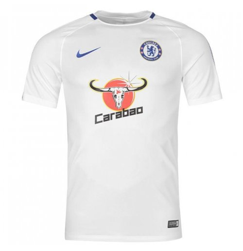 2017-2018 Chelsea Nike Training Shirt (White)