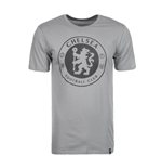 2017-2018 Chelsea Nike Core Badge Tee (Grey)