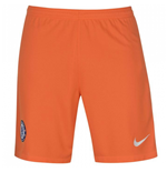 2017-2018 Chelsea Home Nike Goalkeeper Shorts (Orange)