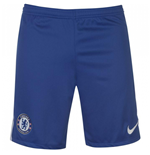 2017-2018 Chelsea Home Nike Football Shorts (Kids)