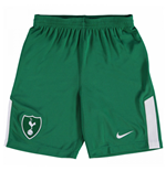 2017-2018 Tottenham Away Nike Goalkeeper Shorts (Green) - Kids