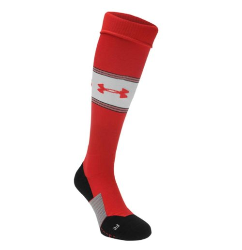 2017-2018 Southampton Home Football Socks (Red) - Kids