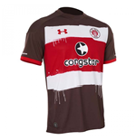 2017-2018 St Pauli Home Football Shirt (Kids)