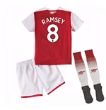 2017-18 Arsenal Home Mini Kit (Ramsey 8)