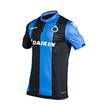 2017-2018 Club Brugge Authentic Home Match Shirt