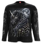 Dark Unicorn - Longsleeve T-Shirt Black