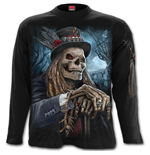 Voodoo Catcher - Longsleeve T-Shirt Black