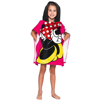Minnie Mouse Youth Hooded Towel