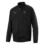 2017-2018 Arsenal Puma Casual Performance Woven Jacket (Black) - Kids