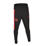 2017-2018 Arsenal Puma Fitted Training Pants with Pockets (Black) - Kids
