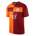 2017-2018 Galatasaray Home Nike Supporters Tee