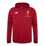 2017-2018 Liverpool Travel Hoody (Red Pepper)