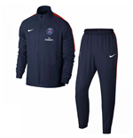 2017-2018 PSG Nike Dry Woven Tracksuit (Navy)
