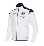 2017-2018 Scotland Macron Rugby Anthem Jacket (White)