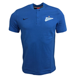 2017-2018 Zenit Nike Authentic Grand Slam Polo Shirt (Blue)