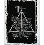 Harry Potter Poster - Deathly Hallows Graphic - 40x50 Cm