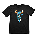 SHOVEL KNIGHT Men's Shovel Attack T-Shirt, Large, Black