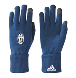 2017-2018 Juventus Adidas Gloves (Blue Night)