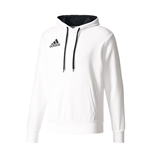 2017-2018 Juventus Adidas Hooded Top (White)