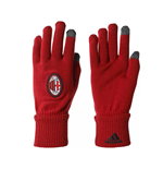 2017-2018 AC Milan Adidas 3S Gloves (Red)