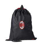 2017-2018 AC Milan Adidas Gym Bag (Black)