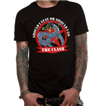 Clash The - Should I Stay Dragon - Unisex T-shirt Black