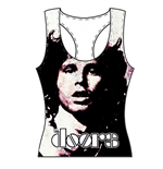 The Doors Ladies Tee Vest: Morrison Oversize